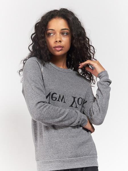 Assembly New York NY Logo Sweatshirt - Heather grey