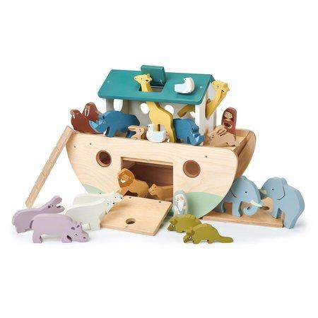 Kids Tender Leaf Toys Noah's Wooden Ark