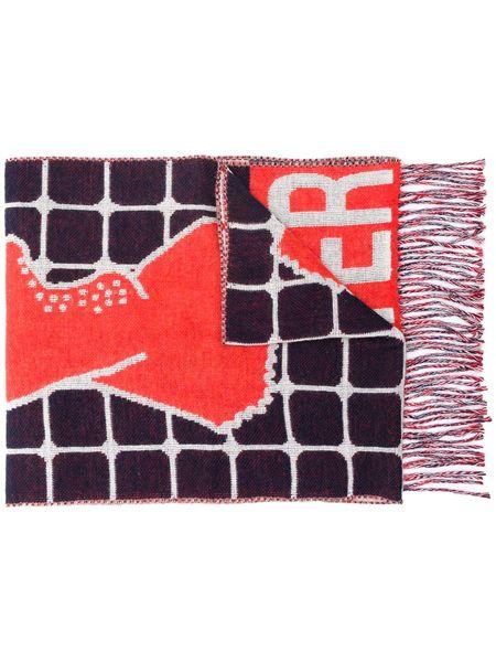 Unisex Henrik Vibskov Hot Water Scarf - Red Gloves