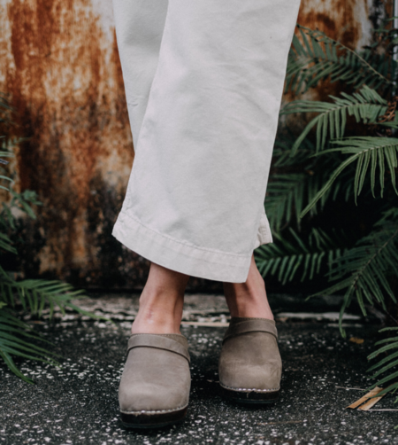 Sunday Supply Co. High Classic Brown Base Clog - Taupe
