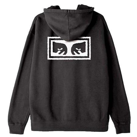 Obey Eyes 3 Pigment Pullover Hood - Dusty Black