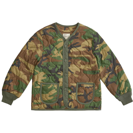 ALPHA INDUSTRIES M-65 Defender Liner - Woodland Camo