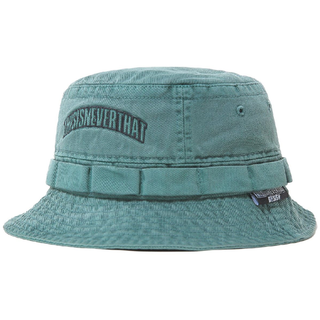 ThisIsNeverThat Overdyed Jungle Bucket Hat - Green