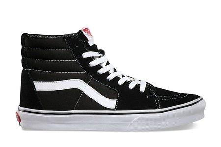 VANS Sk8 Hi - Black/White