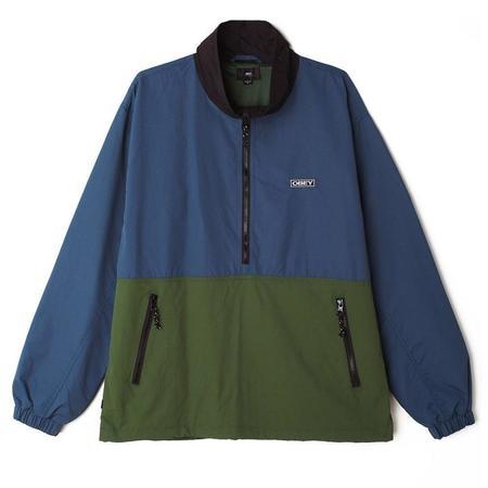 Obey The Tucker Anorak jacket - Sapphire Multi