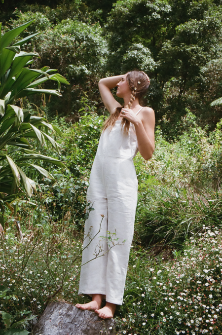 Mimi Holvast Jasmine Jumpsuit - Off White
