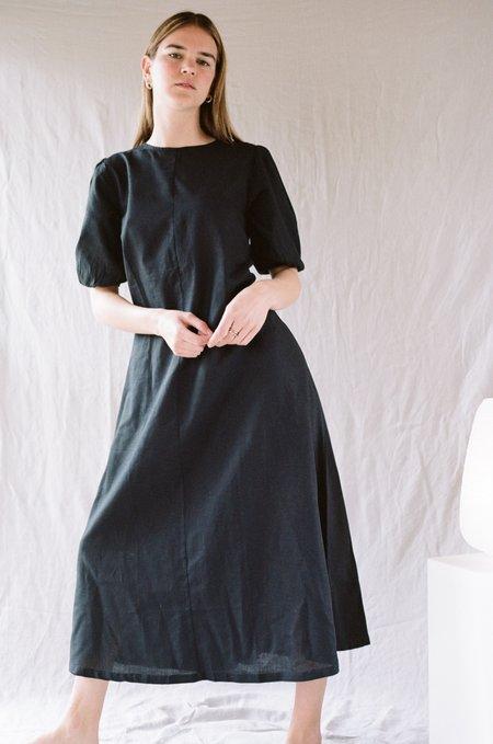 Bare Bones Swing Dress - Black