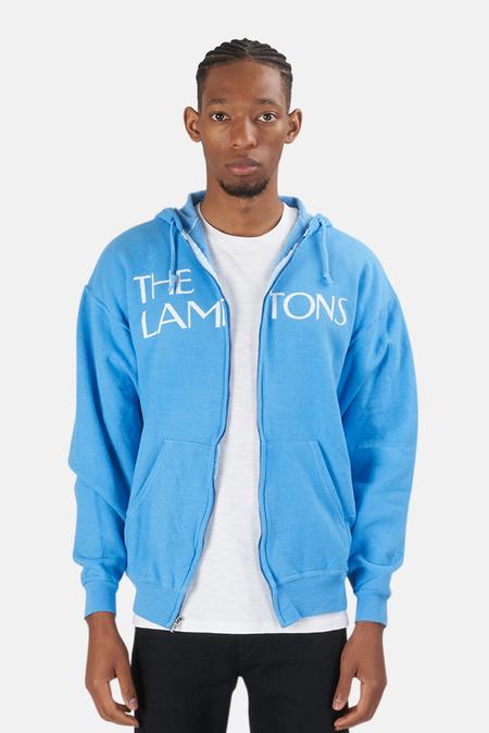 Blue&Cream Lamptons Hoodie Sweater - Blue