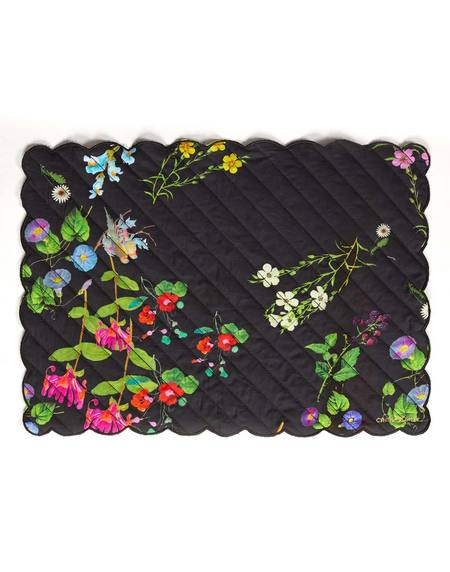 Cynthia Rowley Quilted Cotton Placemat - BLKFL