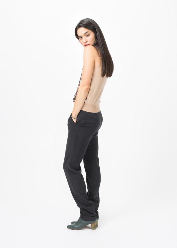 La Prestic Ouiston Silk and Wool Sleeveless Top