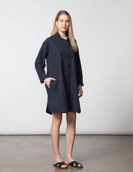 SBJ Austin Stacey Dress - Navy Poplin