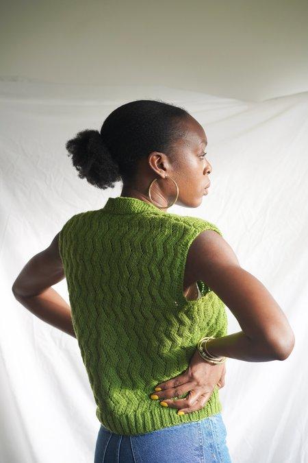 Solosix Hand Knit Vest