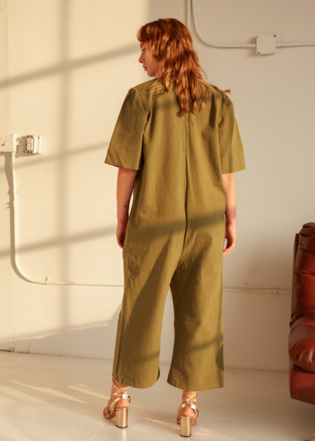 Tigre et Tigre Ryan jumpsuit - Military Green