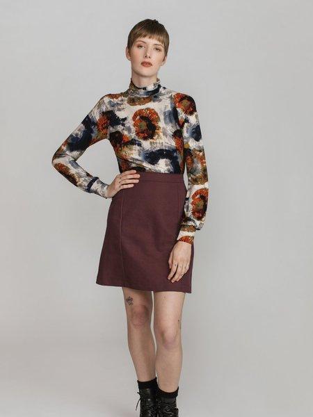 Allison Wonderland Chrissy Turtleneck - Tie Dye