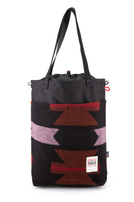 Topo Designs Topo x Woolrich Cinch Tote Western Print