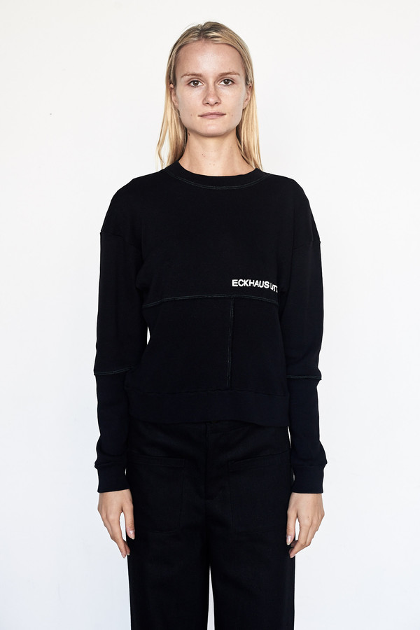 ECKHAUS LATTA Cotton Lapped Sweatshirt