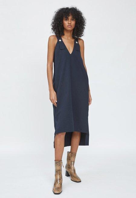 HIDDEN FOREST MARKET Tomboy Dress - Navy