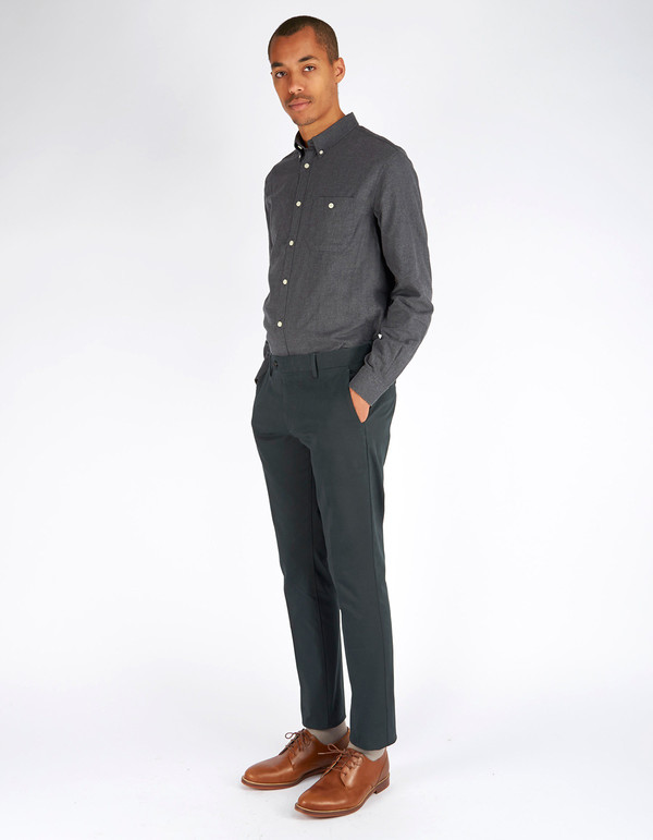 Men's No Nationality Theo Trouser Green