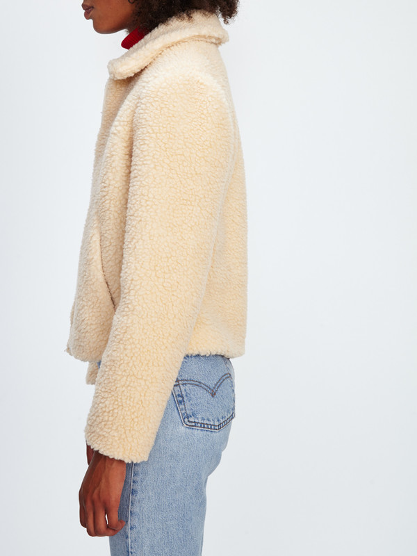 SAMANTHA PLEET SHEEP JACKET / more colors!