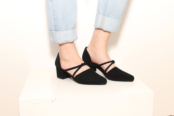 Intentionally Blank DRAFT Black Suede