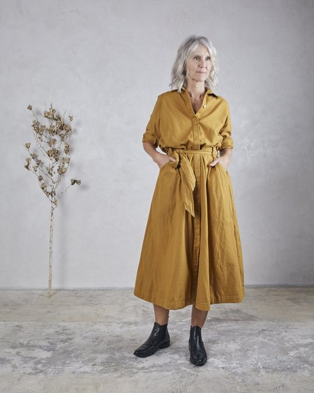 Esby Mabel Dress - Ochre