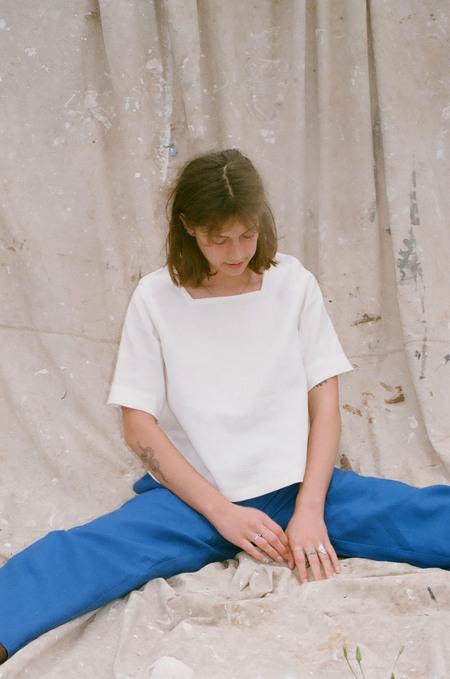 Mimi Holvast Anna Blouse - Off White