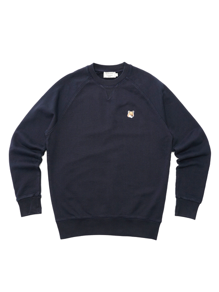 Maison Kitsuné  Fox Head Patch Sweatshirt - Navy