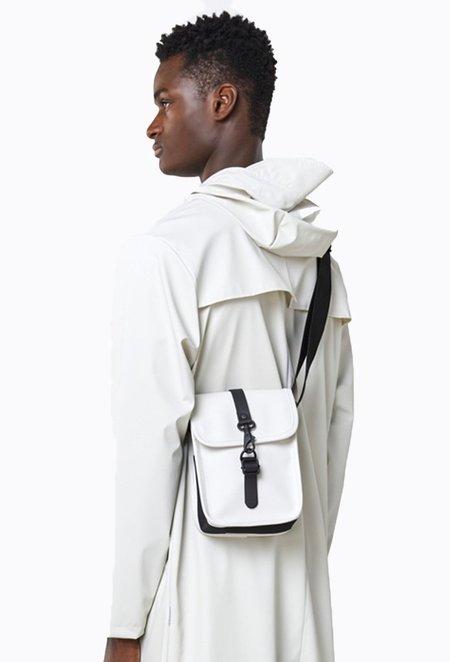 Rains Flight Bag - Off White