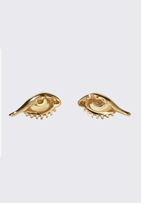 Meadowlark Protéger Stud Earrings - gold