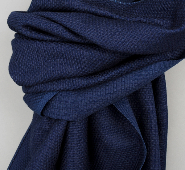 Selvedge Lightweight Indigo Scarf by The Hill-Side
