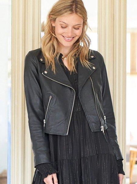 Lolly's Laundry Madison Leather Jacket - Black