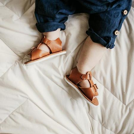 kids Zimmerman Shoes Baby And Child Stevie Sandals - Warm Brown