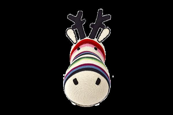 Anne-Claire Petit Reindeer Mixed Stripe Trophy Head - Dodo Les Bobos