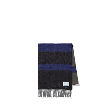 Norse Projects X BEGG & CO. SCARF - TWILIGHT BLUE