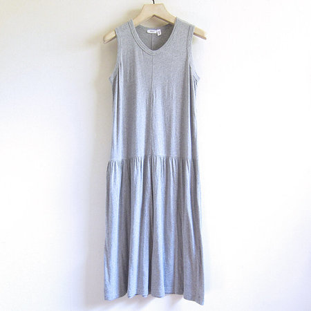 Wilt drop torso shell dress - grey heather
