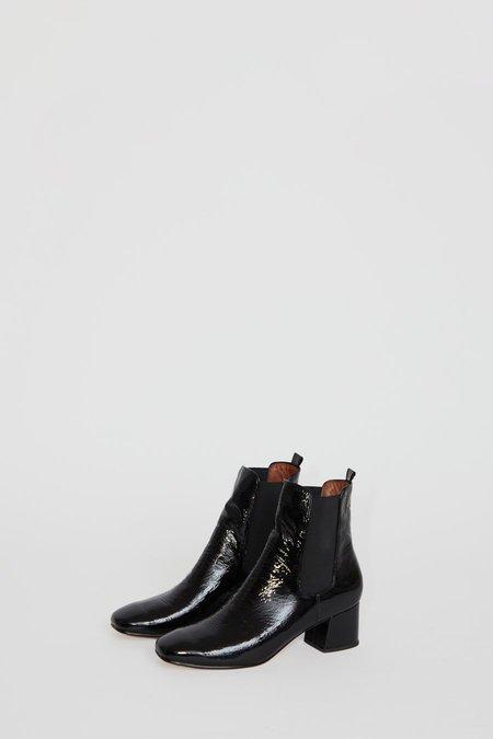 No.6 Bristol Boot - Black Crinkle