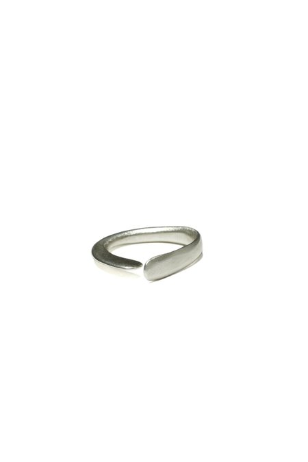 Ordinary Objects Perp Ring - Sterling Silver