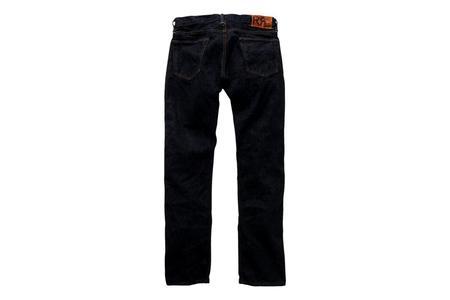RRL Once Washed Slim Fit Selvedge Jean - Blue