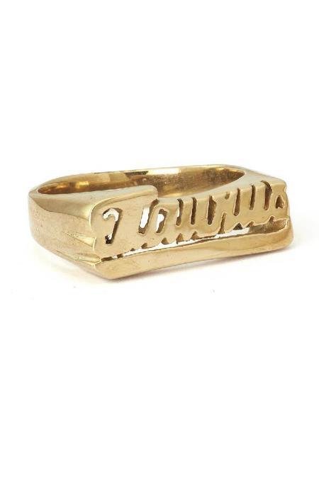 Snash Zodiac Taurus Ring - Gold