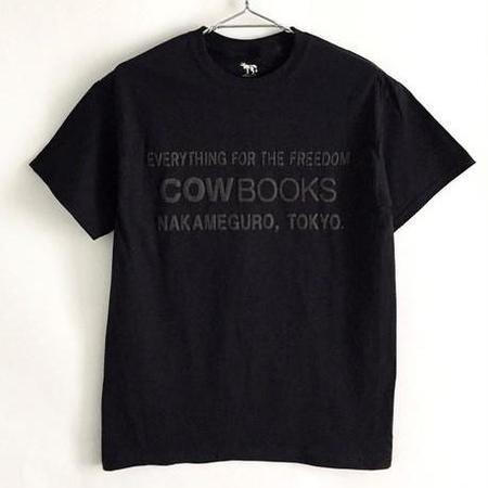 COW BOOKS Book Vendor T-Shirt - Black