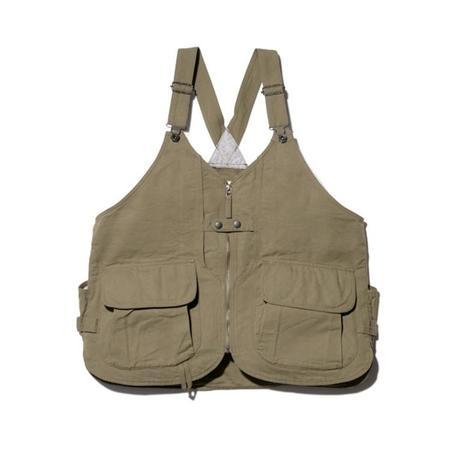 Snow Peak Takibi Duck Vest - Olive