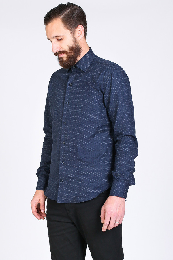 Men's Culturata Bardi Shirt in Navy