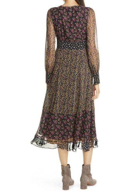 Le Superbe Magnolia Lane Mashup maxi dress
