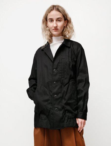 Y's by Yohji Yamamoto Soft Twist Everyday Jacket - Black
