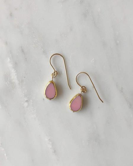 Vamp Shoes I. Ronni Kappos Petal Drop Earrings - Pink