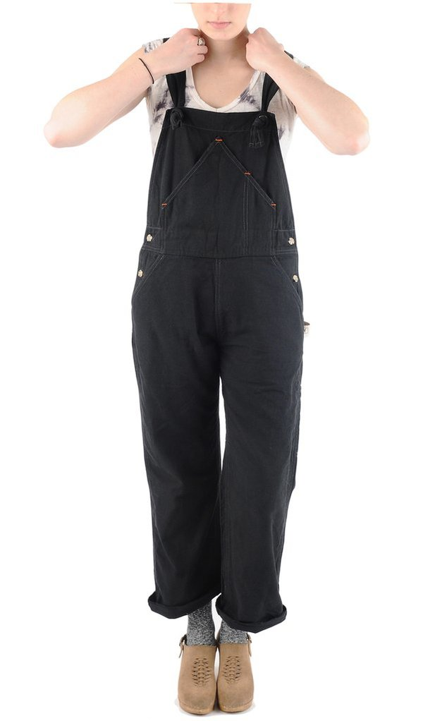 Utility Canvas Overall - Black