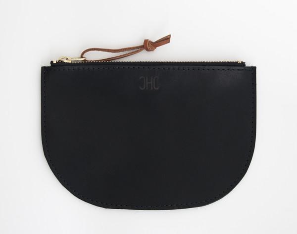 CHC Slim Zip Pouch - Black