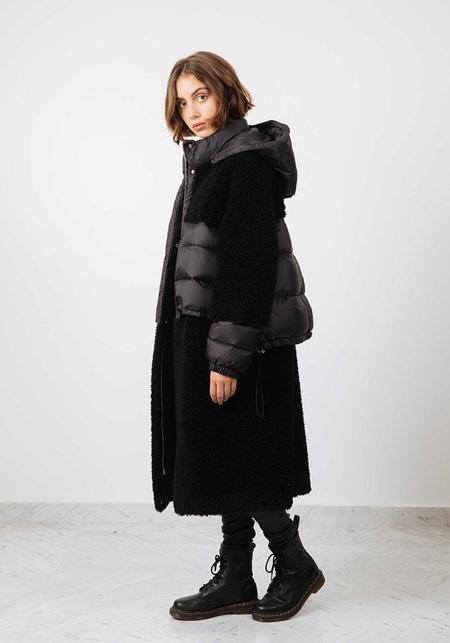 Schimmel Faux Fur Hooded Jacket - Black