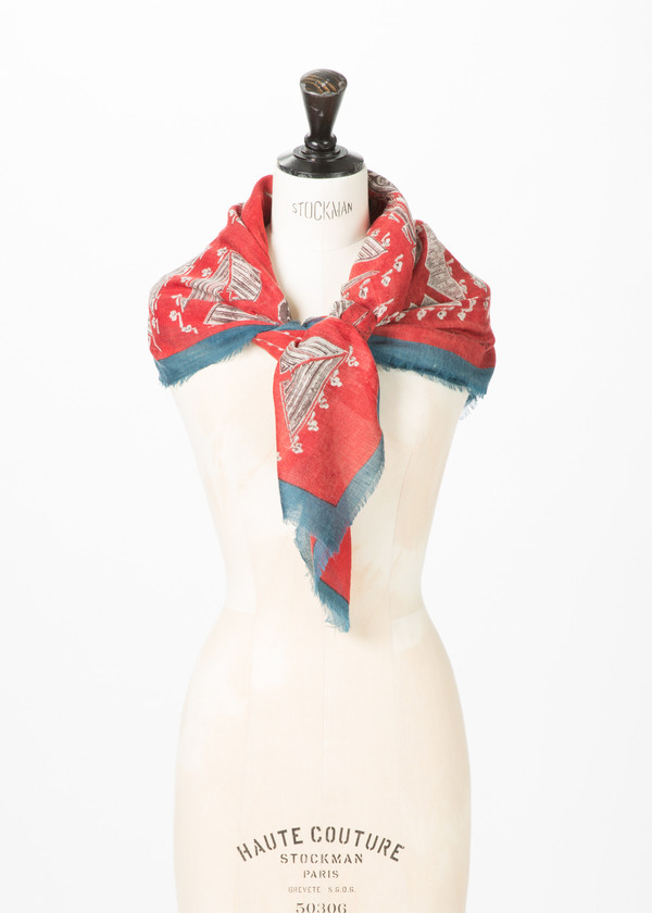 Epice Square Garden Grounds Scarf