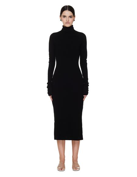 Yohji Yamamoto Dress With Long Sleeves - Black